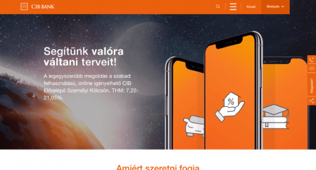 CIB Bank – Hitelek akár 10 000 000 Ft
